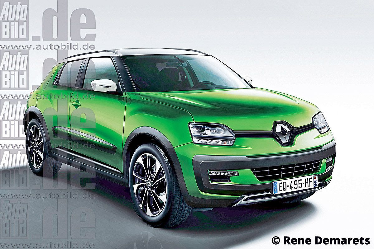 Renault Working On A New Sub 4m Suv Based On The Value Up