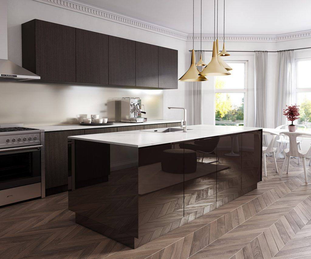 Get The Luxe Look Of Natural Materials With Added Durability Fair Kitchen Design Innovations Design Ideas