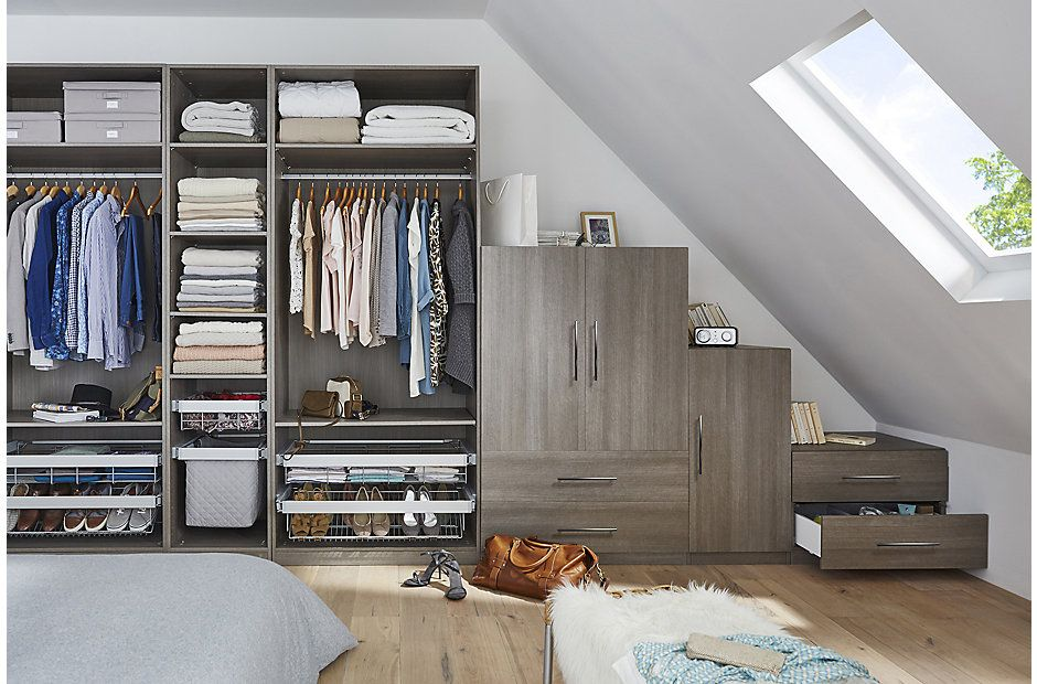 Darwin Modular Furniture | DIY at B&Q | Bedroom storage ...