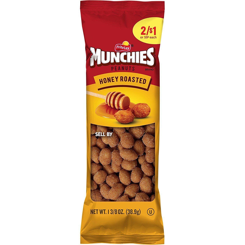 s s frito lay munchies honey roasted peanuts 36 count 1 375 oz