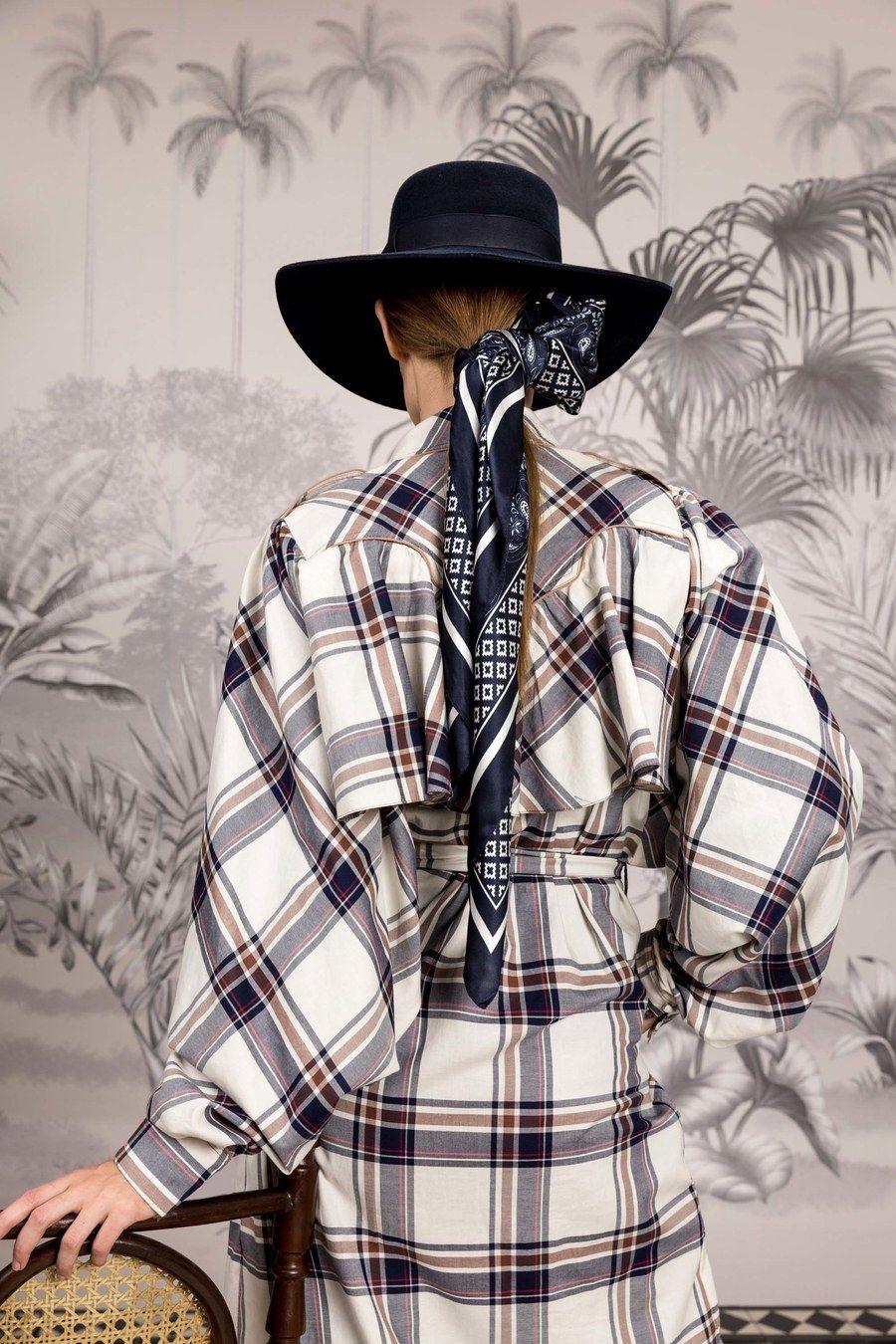 Johanna Ortiz Resort  Fashion Show  Tartan  Pinterest