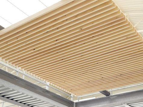 Pannelli per controsoffitto in legno nodoo controsoffitto a