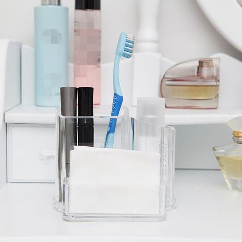 Acrylic Makeup Holder Organizer Clear Display Box Case Cosmetic