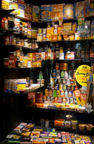 Museum of Brands, Packaging and Advertising- 1970s Food and