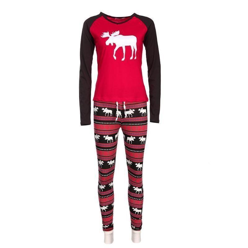 82884adb04 Christmas Family Matching Clothing 2pcs Deer Printed Pajamas Set for Mom   fashion  clothing  shoes  accessories  womensclothing  intimatessleep  ad ( ebay ...