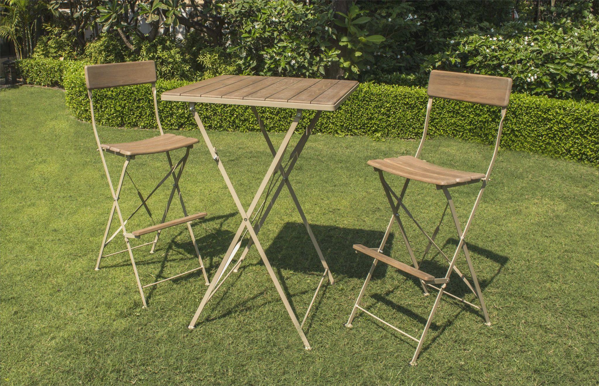 Chaise De Salon De Jardin En Bois