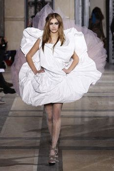 Vivienne westwood white avant garde wedding dress 157 for Vivienne westwood wedding dress price