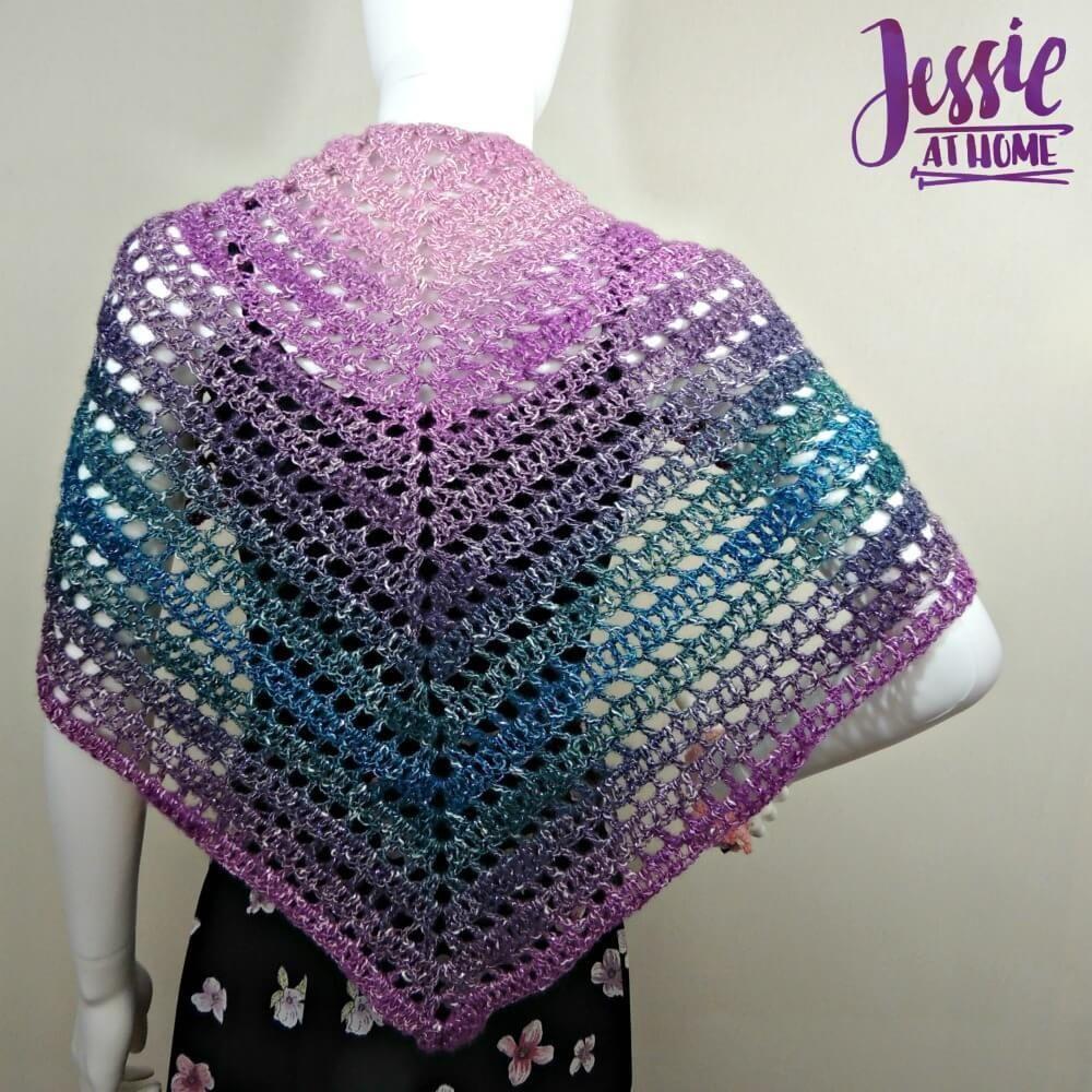 Ball Of Ladders Crochet Shawl Crochet Shawl Free Crochet Shawl
