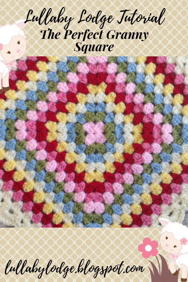 How to Make the Perfect Granny Square (without twisty corners) - Crochet Tutorial