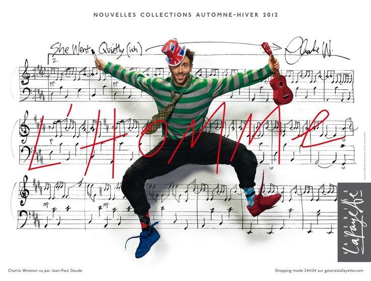 Galeries Lafayette - Charlie Winston