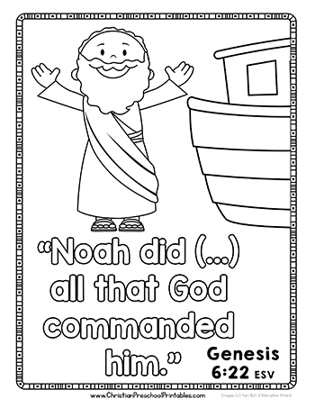 Free Printable Noahs Ark Resources For Your Homeschool Sunday School Outreach Program Or Missionaries