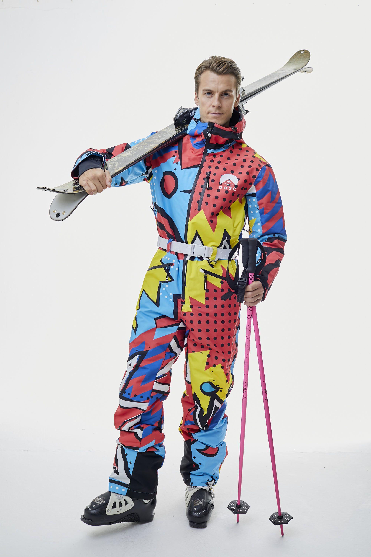 The Fresh Prince 2k18 Ski Suit Mens Unisex Oosc Clothing Ski Women Ski Suit Mens Winter Suit