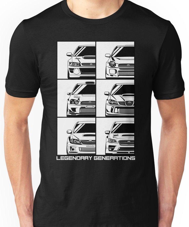 Impreza Generations Unisex T-Shirt 4cc02fe2ae