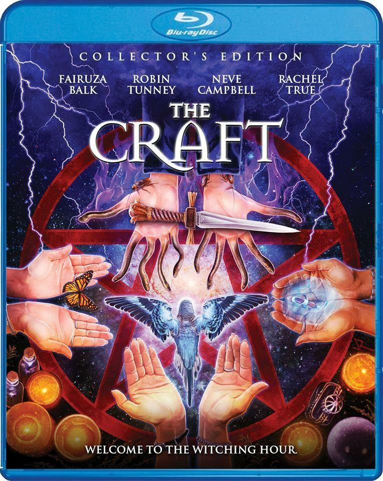 New Blu Ray Releases 2019 The Craft (Scream Factory Blu ray release on March 12th 2019) | My