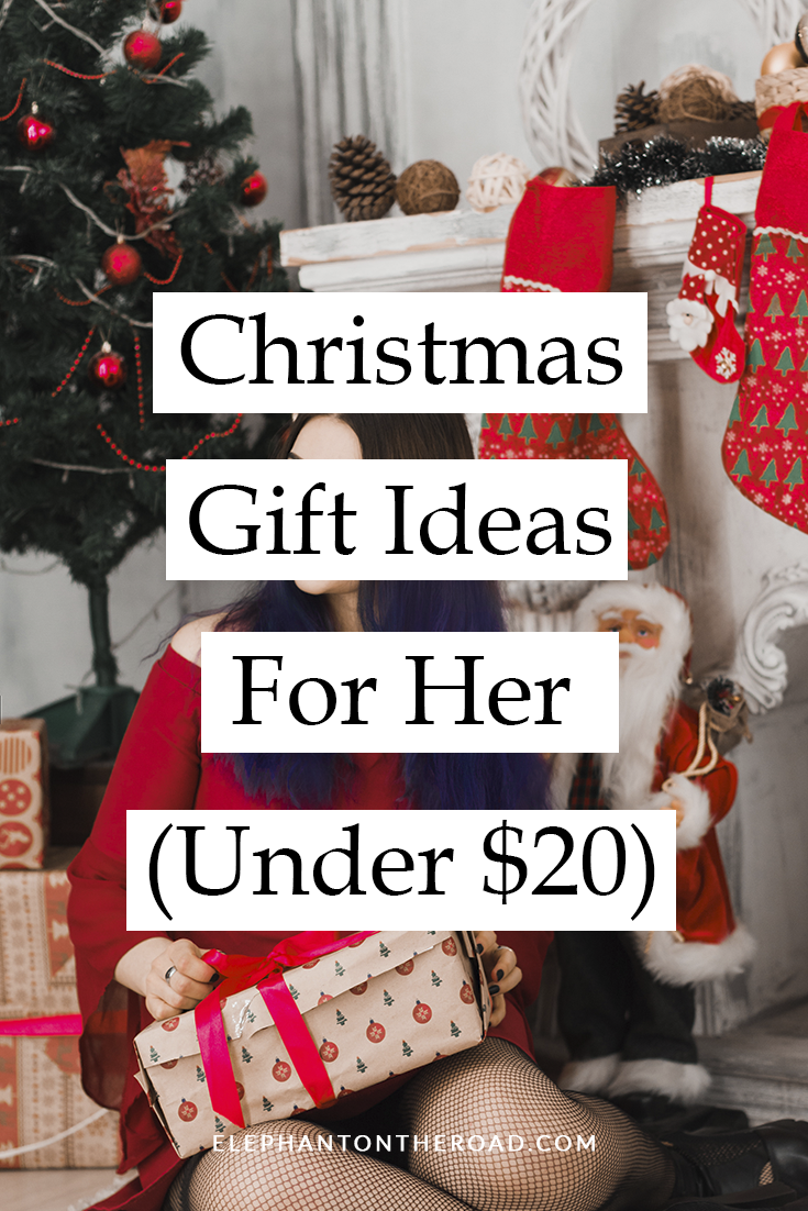 Christmas Gift Ideas For Her (Under $20) | Christmas gifts ...