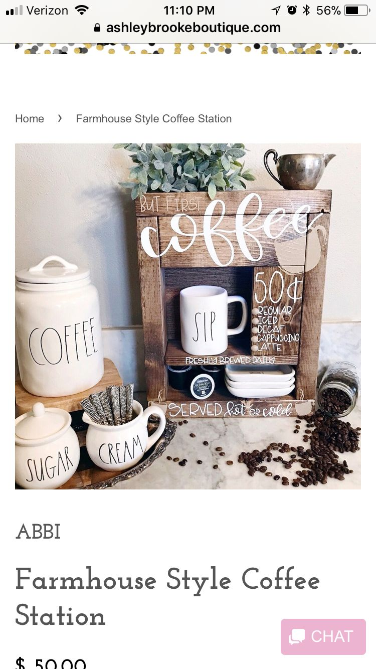 Pin By Dee Weaver On Pallet Ideas Coffee Station Custom