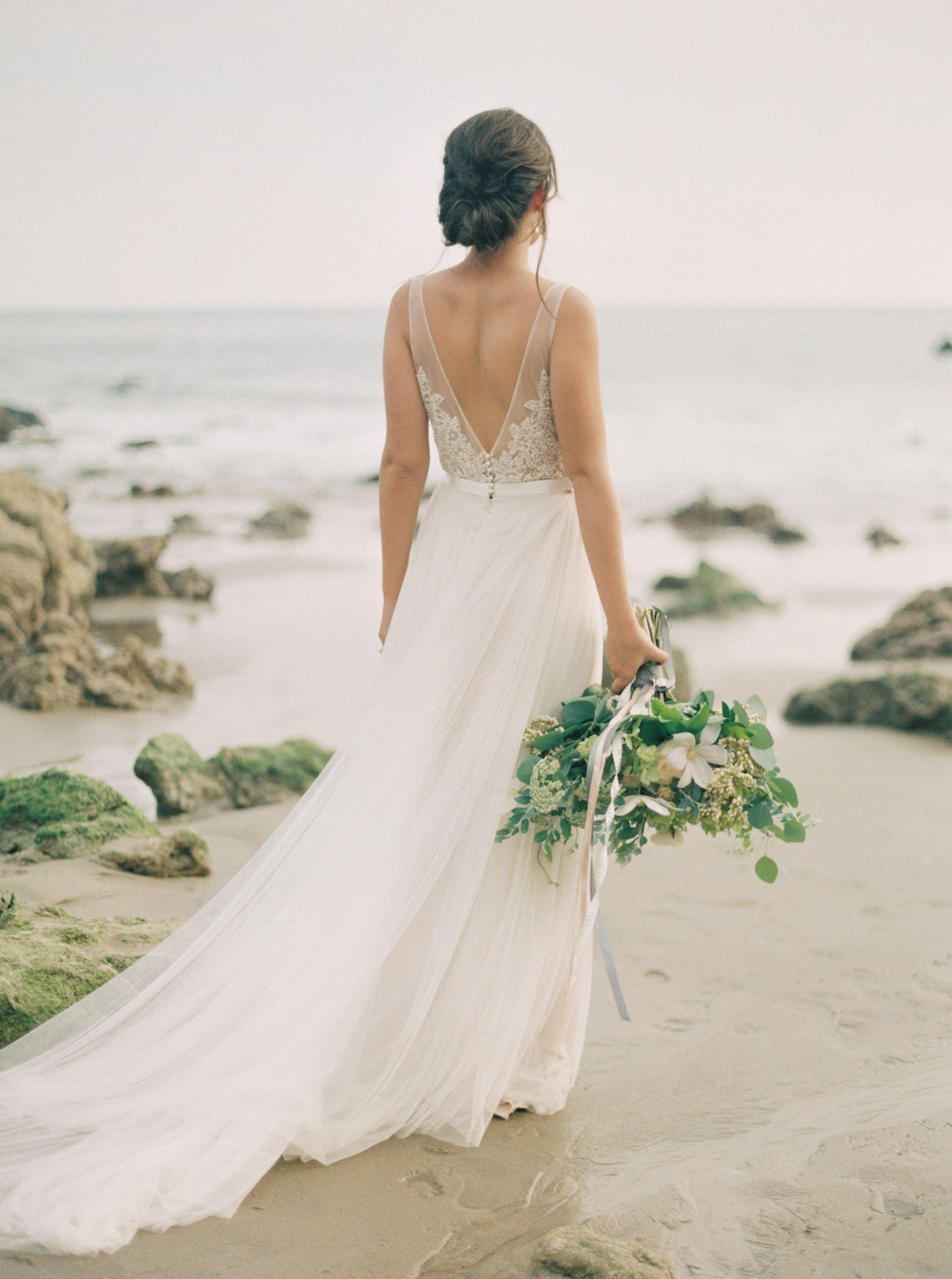 Elegant California Seaside Wedding Inspiration Seaside Weddings