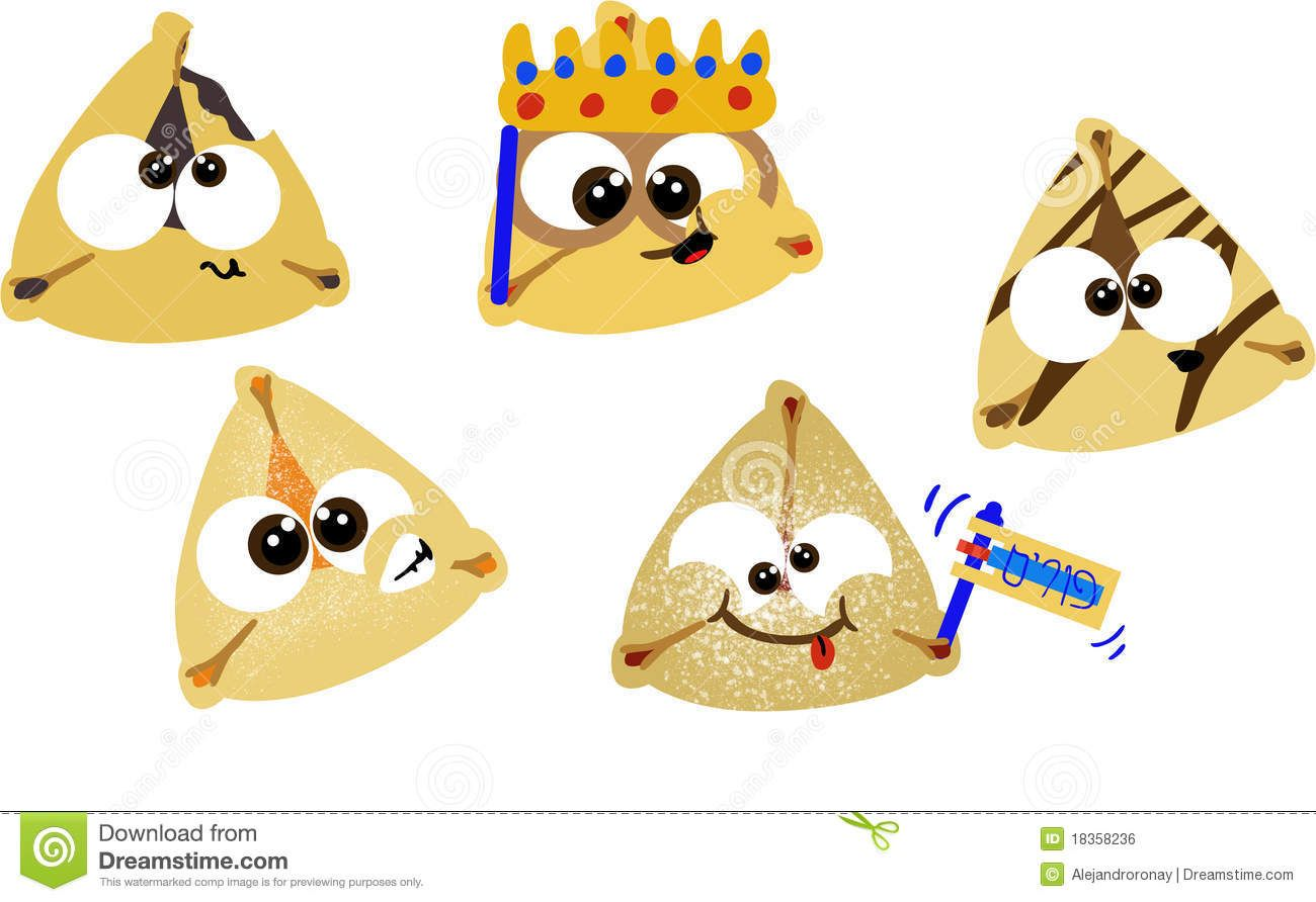 Purim Hamentashen Stock Illustration Illustration Of Cookie