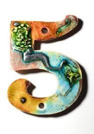 Image Result For Ceramic House Numbers Ceramic House Number