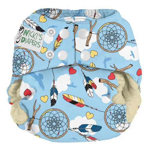 Nickis Diapers One Size Cloth Diaper Covers Snap