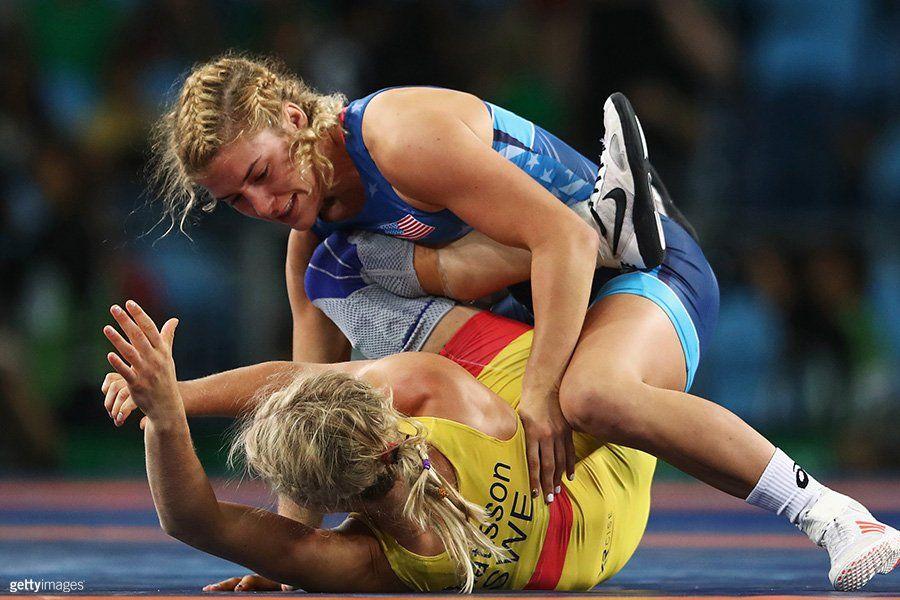 UP NEXT USAWrestling's helen_maroulis goes for gold