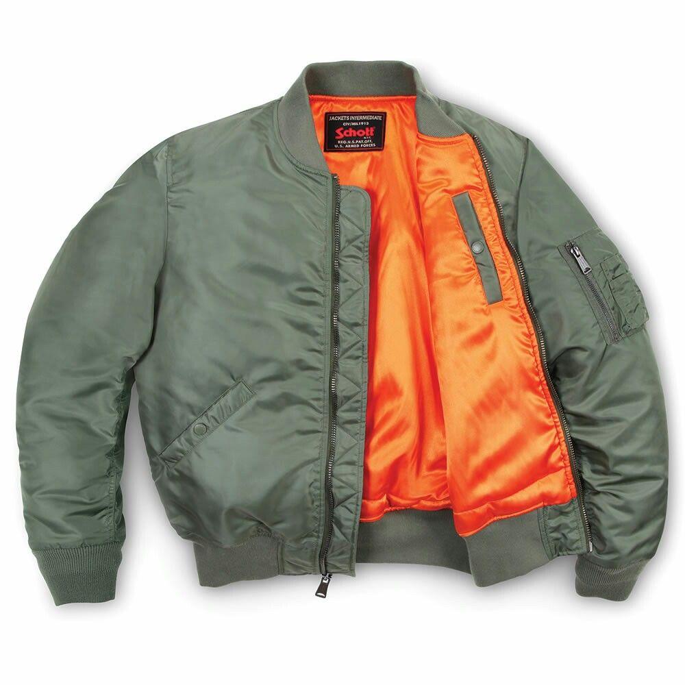 Schott Nyc Ma 1 Flight Jacket Mens Flight Jacket Flight Jacket Jackets [ 1000 x 1000 Pixel ]