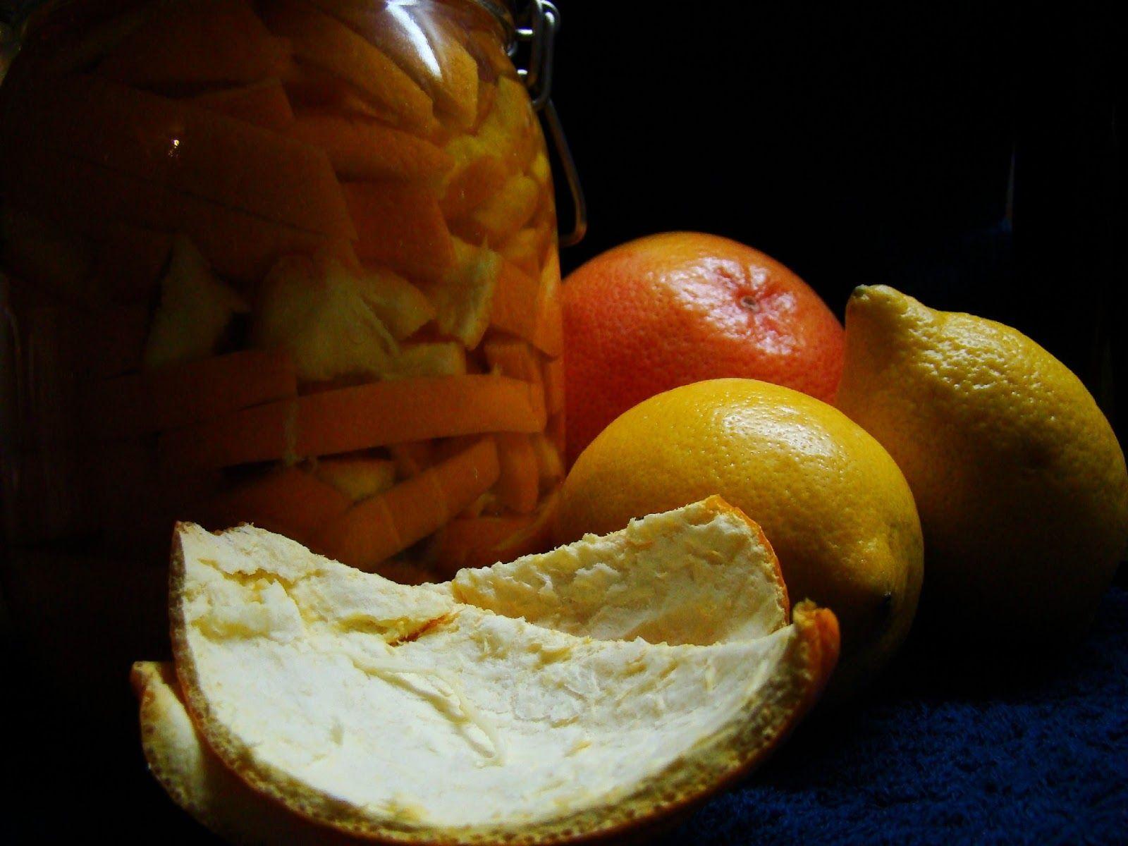Univerzální čistič povrchů z citrusových slupek