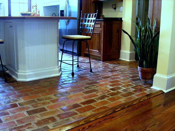 Old Carolina Antique Brick Flooring This Is It House Flooring