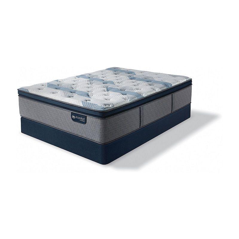 Serta Icomfort Blue Fusion 300 Plush Pillow Top Mattress Box Spring Plush Pillows