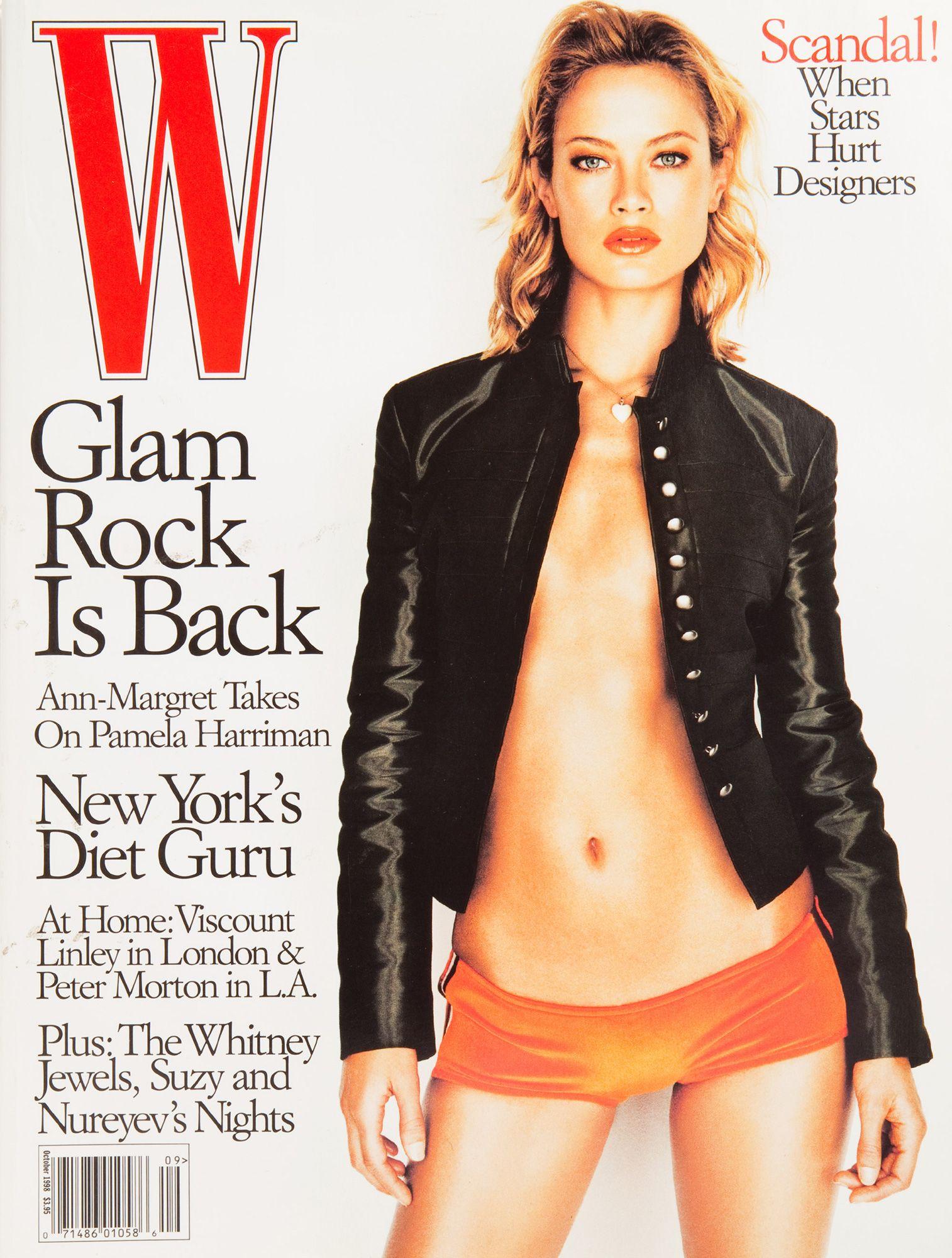 <em>W</em> Magazine's Supermodel Cover Girls - W Magazine October 1998-Wmag