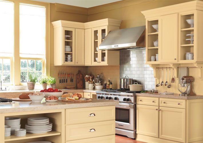 Martha Stewart Traditional Kitchen In Off White With Turkey Hill