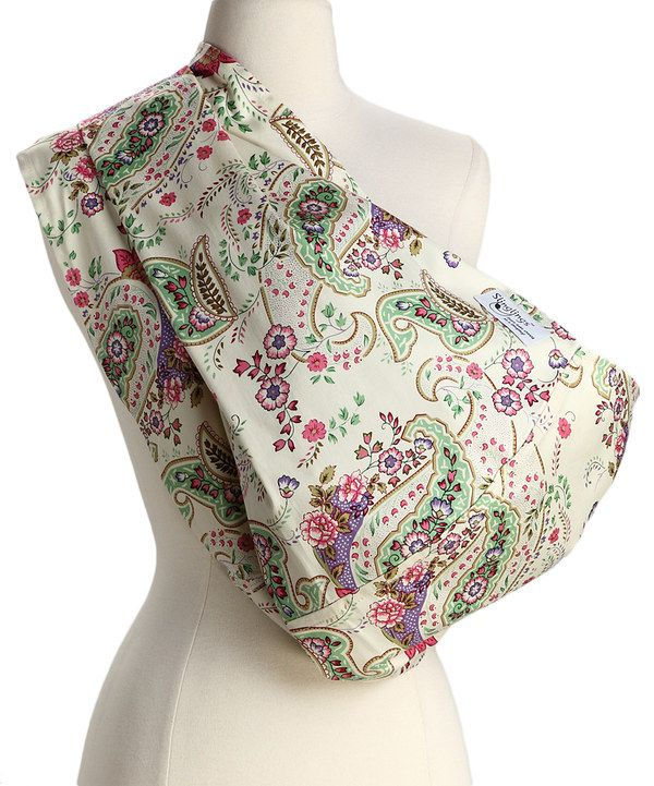 Take a look at this Slinglings Pink & Green Paisley Ellen Unpadded Sling on zulily today!