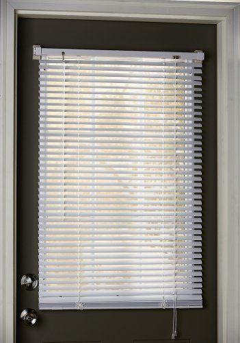 Steel Door Window Frame Magnetic Blinds Ivory 25 Quot X 40 Quot By