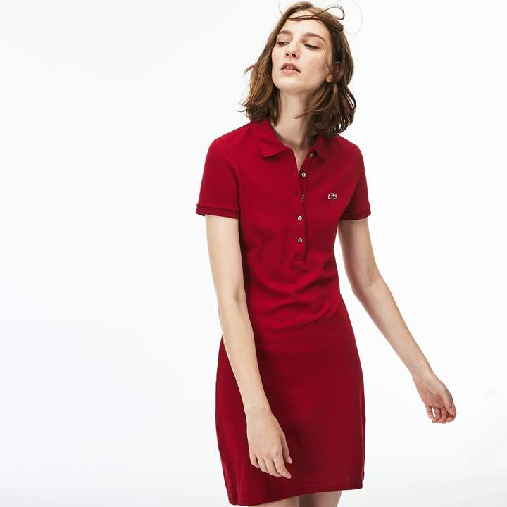 ae1de018553b Women's Stretch Cotton Mini Piqué Polo Dress in 2019 | mini box ...