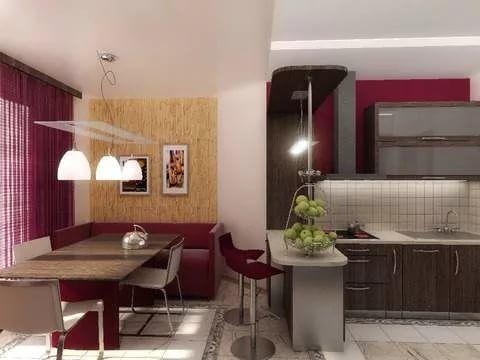 кухня-гостиная 13 метров: 21 тыс изображений найдено в ...