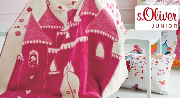 Kuscheldecke S Oliver Marchenwelt Kinder Baby Kinderzimmer