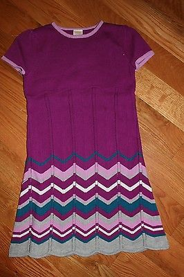 ebcb9eebd40 Jumpsuits and Rompers 175528  Nwt Gymboree Sparkle Kitty Size 6 Purple  Zigzag Sweater Dress -