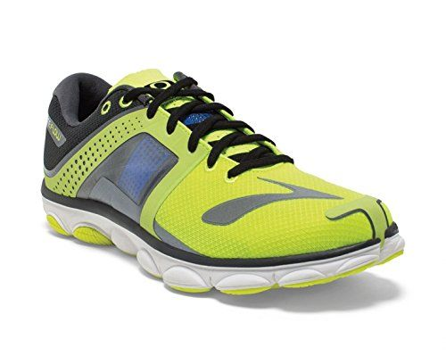 341d12c19fd85 Brooks Mens PureFlow 4 NightlifeAnthraciteElectricBlue Running Shoes US 14  D   Find out more about the great product at the image link.