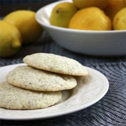 Lemon Earl Grey Cookies