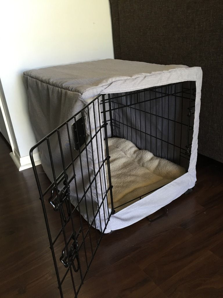 dog crate cover tutorial 3
