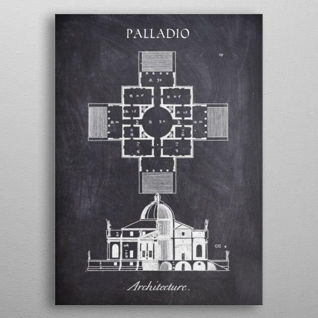 PALLADIO_CHALK COLLECTION metal poster | Displate thumbnail
