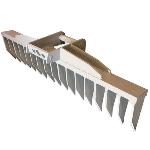 MS01 Roderechen 120cm Wurzelreche Rechen Minibagger Feinwurzelschneide NEU  | eBay