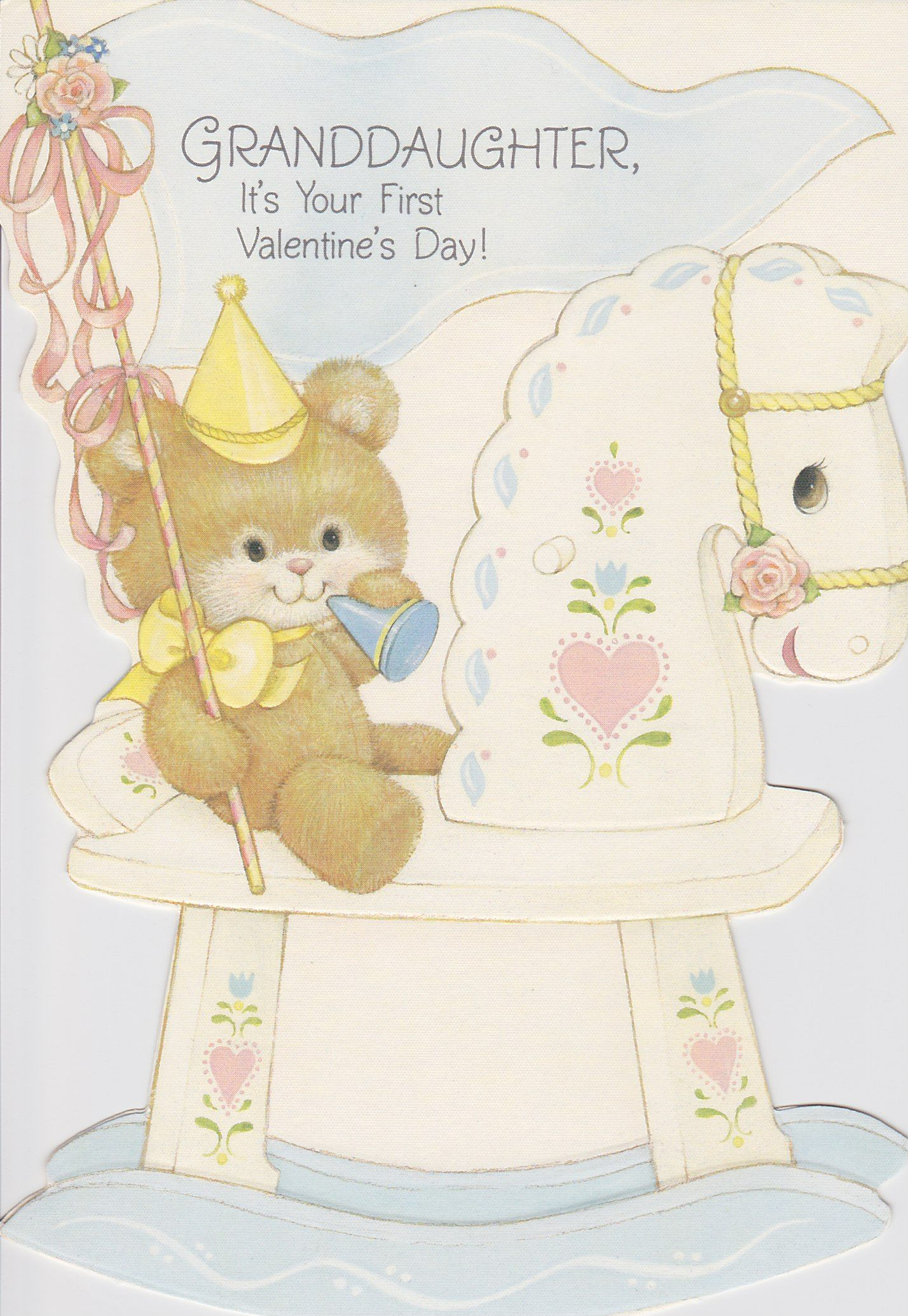 A Valentines Day card to Rebecca from Mimi and Bran Bran I