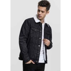 Lined denim jackets for men