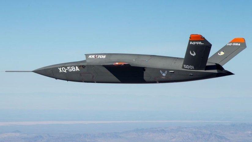 Dron Xq 58a Valkyrie Aviones De Combate Drones Combate