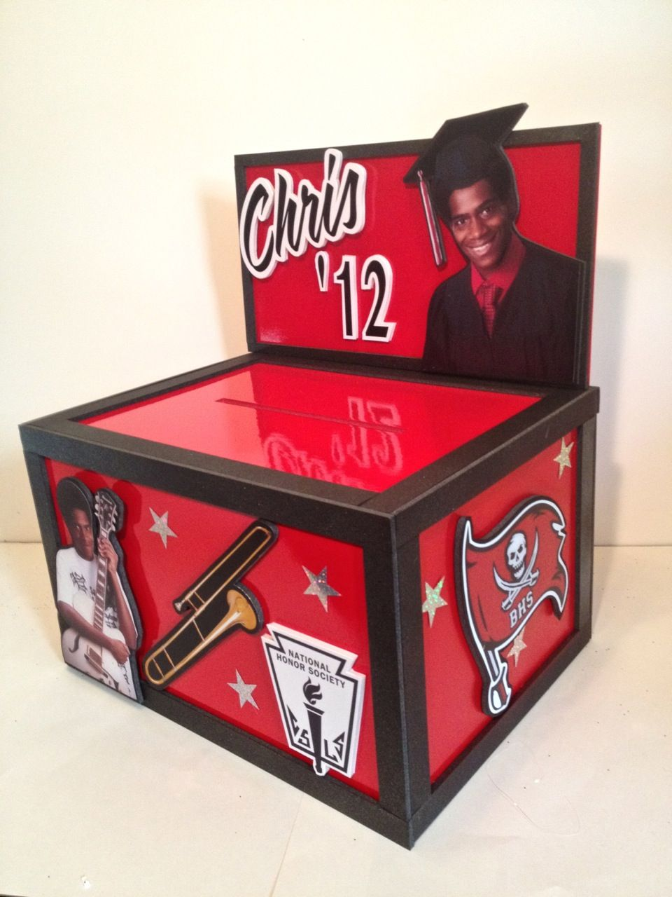 Musing With Marlyss Graduation Centerpiece Gift Card Box Ideas