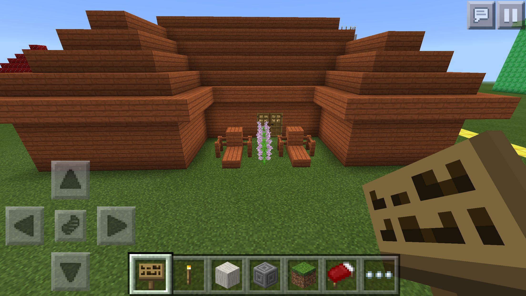 Minecraft Furniture Outdoor Minecraft Houses Minecraft Crafts Minecraft Furniture