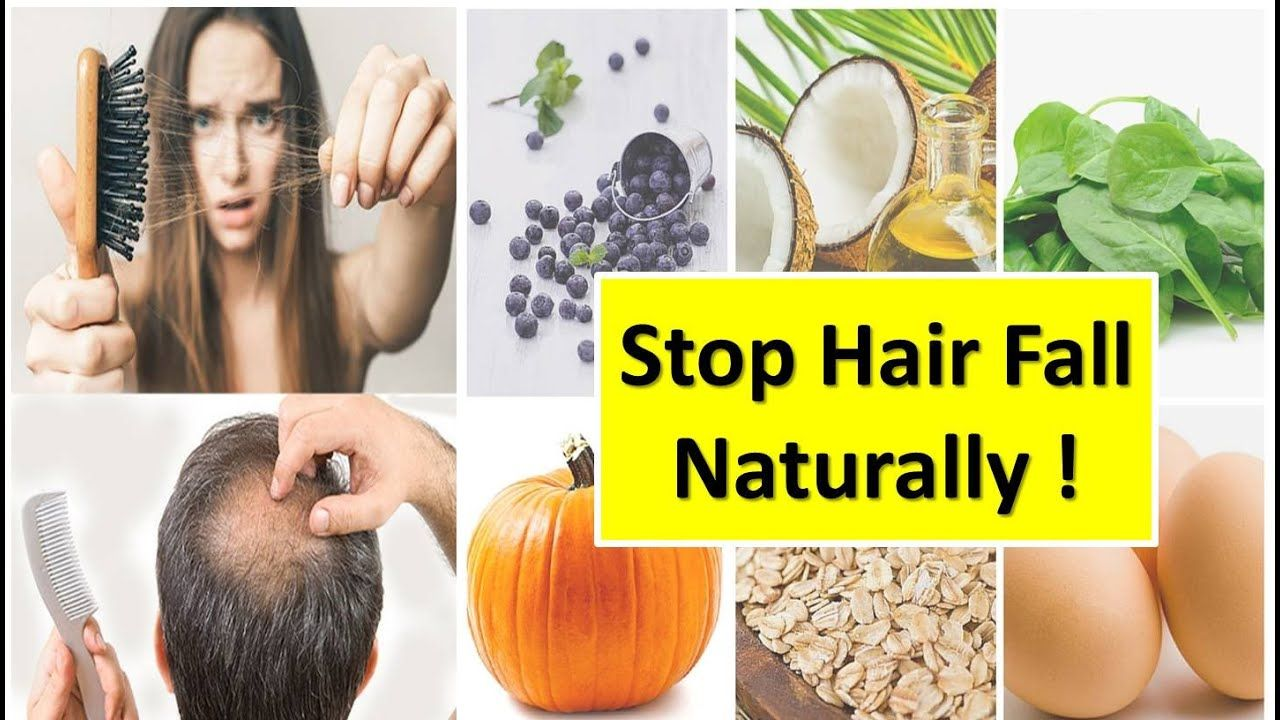 Stop Hair Fall in 1 Week Naturally Miracle Foods | Diet Plan for Healthy Hair Growth