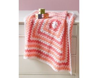 Marble Baby Throw Pattern