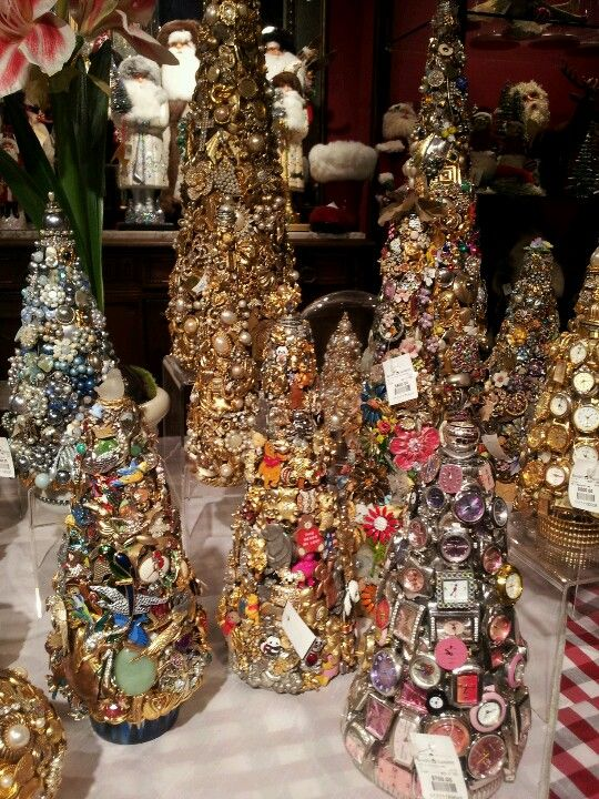Christmas Tree Repurposed Watch Cones. Sold at Rogers